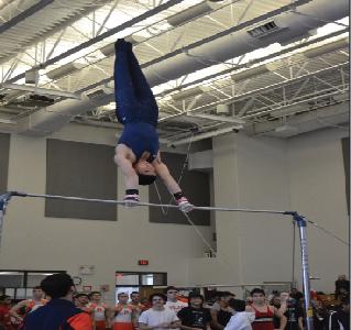 Boys gymnastics vaults into new season with veteran leadership
