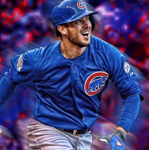 Cubs third baseman rookie Kris Bryant