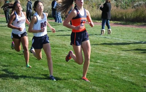 Junior Katilyn Ko keeps a strong pace in a recent meet