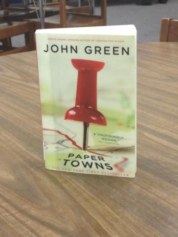 Paper Towns, written by John Green