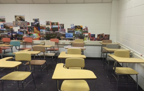 The current testing center will be transformed to exhibit student artwork