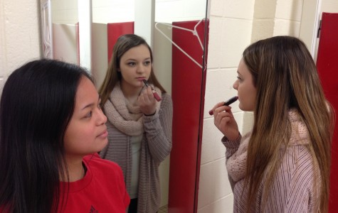 Discussing moral implications in putting on too much or too little makeup