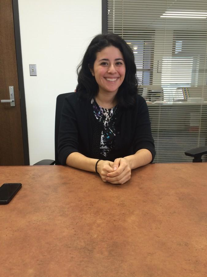 District Media Manager Jennifer Delgado acts as middle ground between students and administration