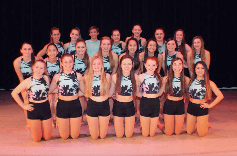 Orchesis+gets+ready+to+perform+their+show.
