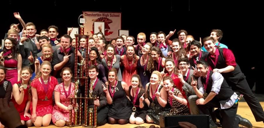 The Expressions were Grand Champions at the Chesterton Trojan Choral Classic.