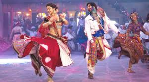 Manukian's map of dances: Bollywood