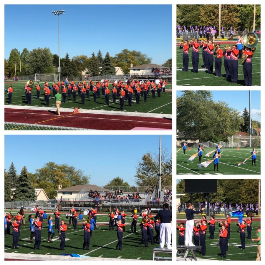 BG+marching+band+marches+into+first+competitive+first+season