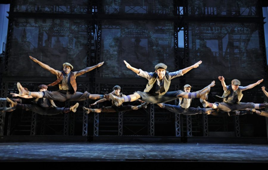 Newsies%2C+a+Disney+Theatrical+Production+under+the+direction+of+Thomas+Schumachter+presents+Newsies%2C+music+by+Alan+Menken%2C+lyrics+by+Jack+Feldman%2C+book+by+Harvey+Fierstein%2C+starring+Jeremy+Jordan+%28Jack+Kelly%29%2C+John+Dossett+%28Joseph+Pulitzer%29%2C+Kara+Lindsay+%28Katherine+Plumber%29%2C+Capathia+Jenkins+%28Medda%29%2C+Ben+Fankhauser+%28Davey%29%2C+Andrew+Keenan-Bolger+%28Crutchie%29%2C+Lewis+Grosso+%28Les%29+and+Matthew+J.+Schechter+%28Les%29+under+the+direction+of+Jeff+Calhoun%2C+choreographed+by+Christopher+Gattelli%2C+World+Premiere%2C+Paper+Mill+Playhouse%2C+in+Millburn%2C+New+Jersey+on+September+25%2C+2011