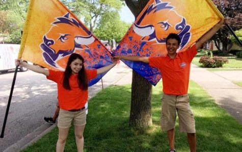Color Guard begins first year with marching band