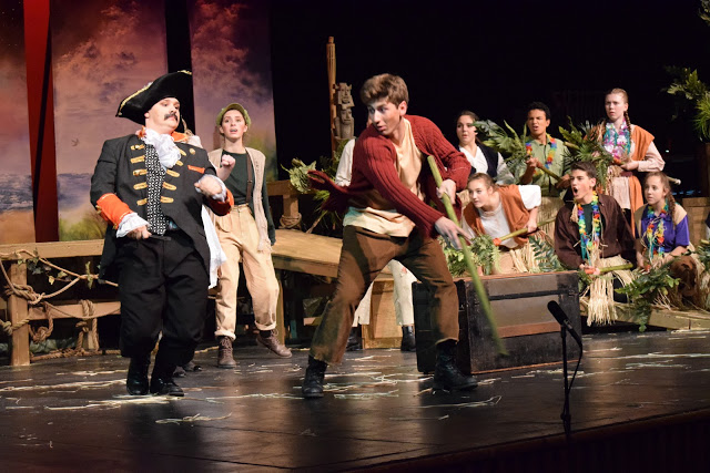 "Go to Neverland in the fall play ""Peter and the Starcatcher"""