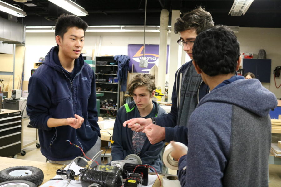 Robotics Club exposes students to specialization in mechanical industry
