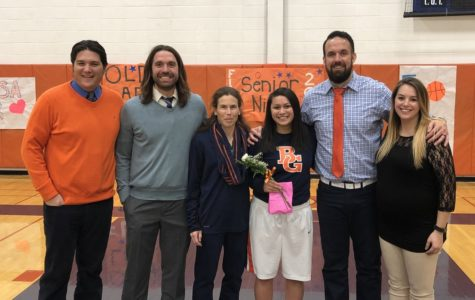 Floro flourishes as only senior on Girls Basketball