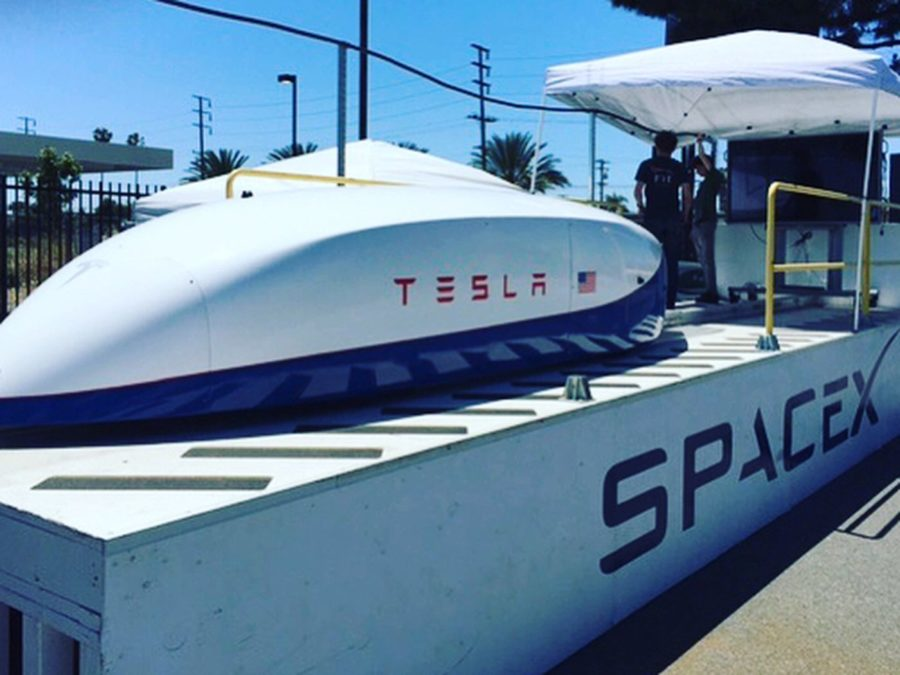 Tesla's Hyperloop zooms ahead in technological race despite facing industry challenges