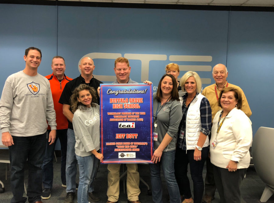 CTE department recognized for excellence at BG