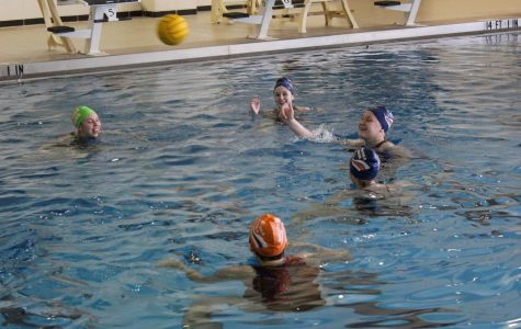 Girls water polo prepares as a team for season