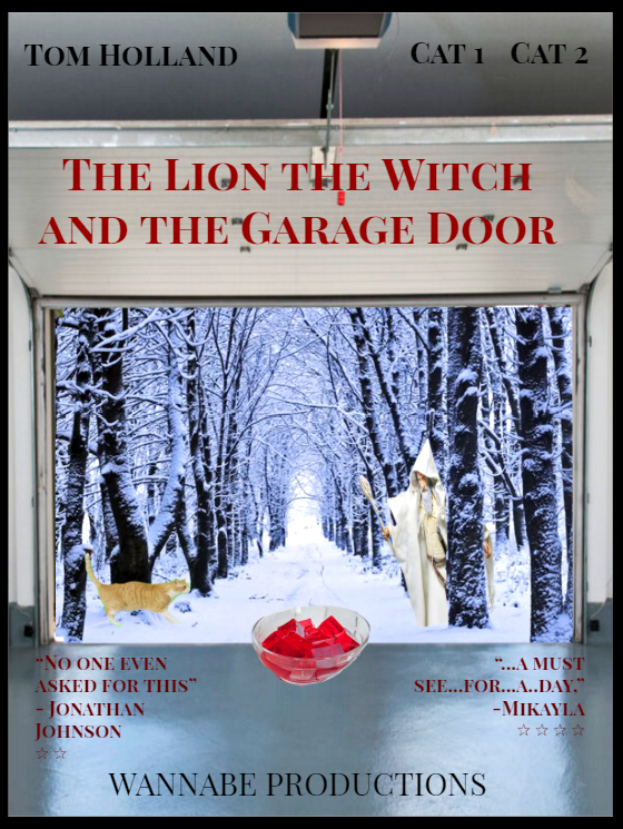"Movies with Mikayla: ""The lion the witch and the garage door"""