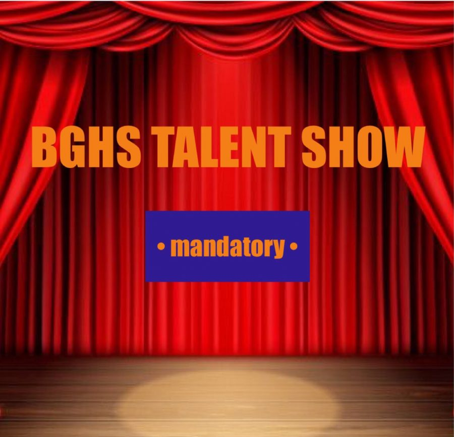 BG's upcoming mandatory talent show creates concern