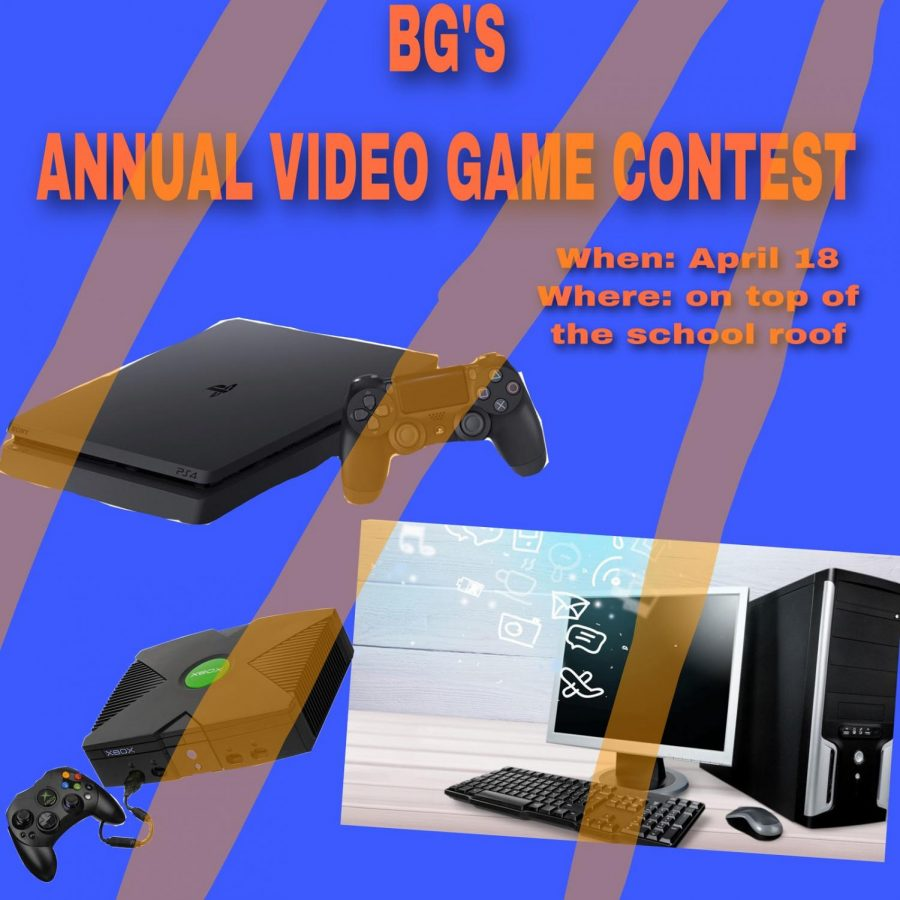 "Press the play button ""on"" for the annual video game contest"